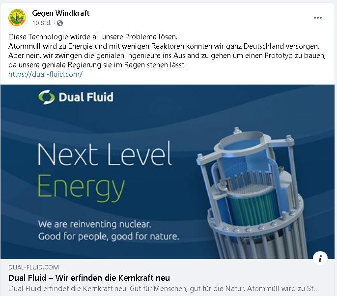 Dual Fluid